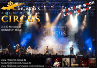 Dr Woo's Rock 'n' Roll Circus - Info 2013