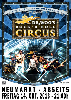 Dr Woos Rock N Roll Circus Neumarkt Abseits 2016